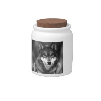 Wolf Candy Jars
