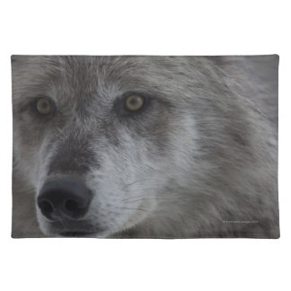 Wolf (Canus lupus) from Yellowstone National Cloth Place Mat