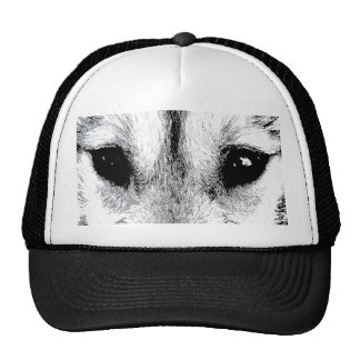 Wolf Caps Sled Dog Cap Husky Wolf Pup Hats Gifts