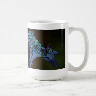 Wolf Carousel Mug