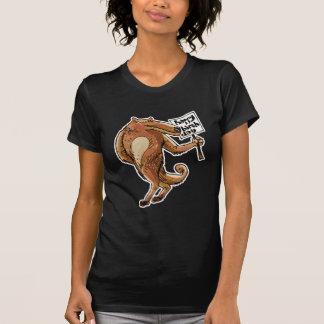 wolf cartoon style happy birthday message T-Shirt