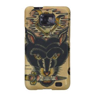 Wolf Samsung Galaxy SII Case