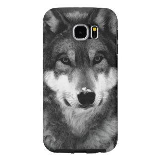 Wolf Samsung Galaxy S6 Cases