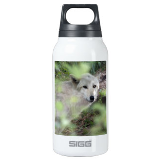 Wolf Charm Insulated Water Bottle