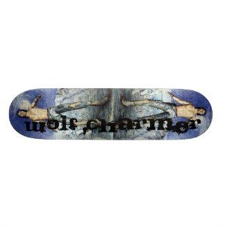 Wolf Charmer Fantasy Scateboard Skateboard Deck