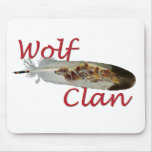 Wolf Clan Mouse Pad
