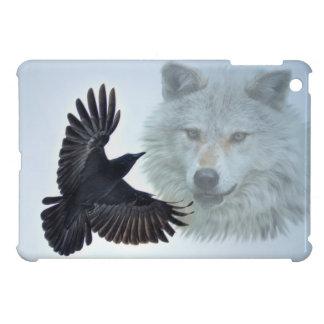 Wolf Clan - Raven Clan Wildlife Design iPad Mini Cases