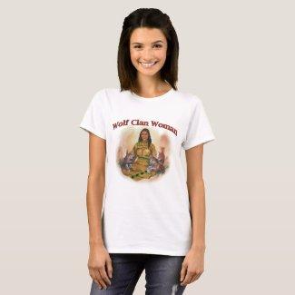 Wolf Clan Woman T-Shirt