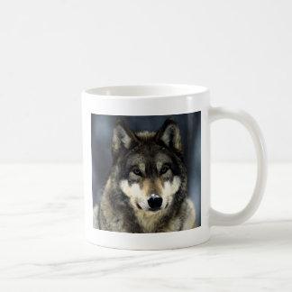 Wolf Classic White Coffee Mug
