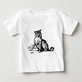 wolf-clip-art-2 baby T-Shirt