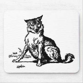 wolf-clip-art-2 alfombrilla de raton