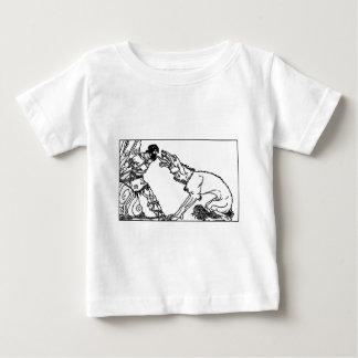 wolf-clip-art-4 baby T-Shirt