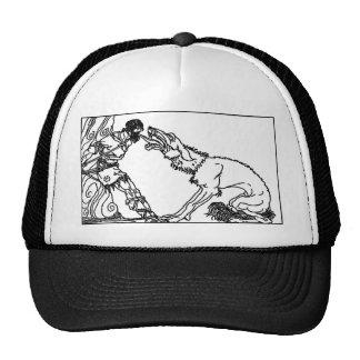 wolf-clip-art-4 gorras de camionero