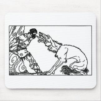 wolf-clip-art-4 tapete de ratón