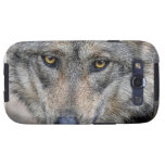 Wolf Close-Up Eyes Galaxy SIII Covers