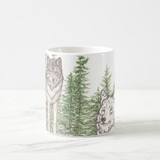 Wolf Coffee Mug Guidence