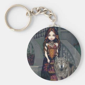 """Wolf Countess"" Keychain"