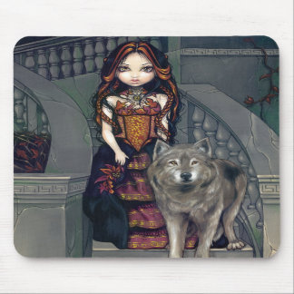 """""""Wolf Countess"""" Mousepad"""