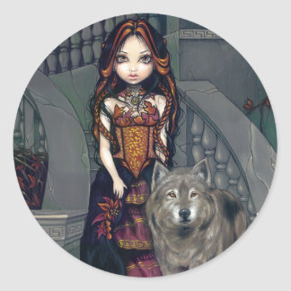 """""""Wolf Countess"""" Sticker"""