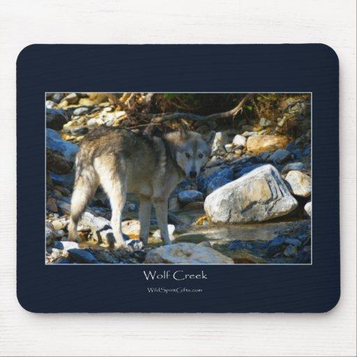 WOLF& CREEK Art Mousepad