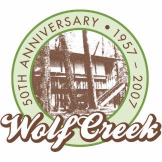 Wolf Creek Sculpture Key Chain