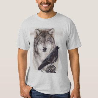wolf-crow tee shirt