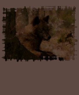 Wolf Cub Cute Animal Wolf-Lover Tshirt