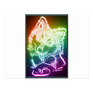 Wolf Cub Postcard