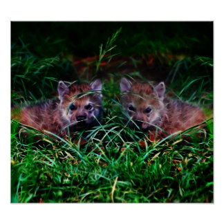 Wolf Cubs Poster