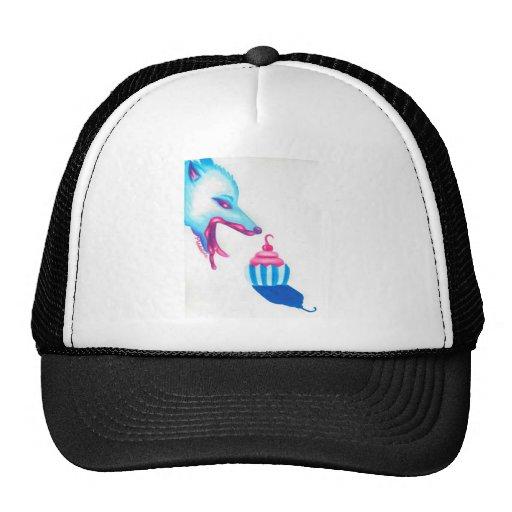 Wolf Cupcake Love Trucker Hat