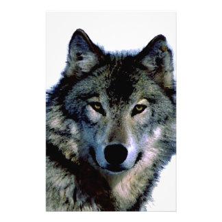 Wolf Customized Stationery