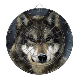 Wolf Dartboard With Darts