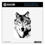 Wolf Decal For iPod Touch 4G