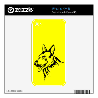 Wolf Decals For iPhone 4S