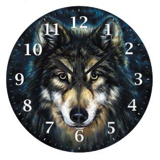 Wolf Decorative Wall Clock