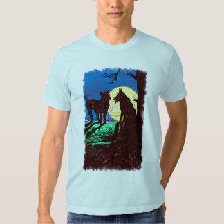 Wolf Dog Moon T-Shirt