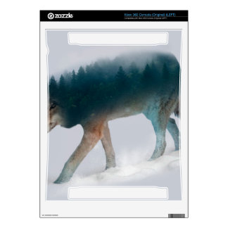 Wolf double exposure - wolf forest - wolf usa skin for the xbox 360