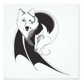 Wolf & Dragon Invitations