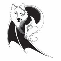 Wolf & Dragon Photo Sculpture