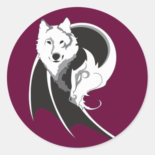 Wolf & Dragon Stickers