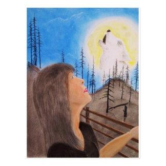 Wolf Dreamer Postcard