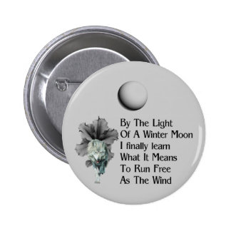 Wolf Dreams Buttons