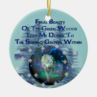 Wolf Dreams Gifts Christmas Ornaments