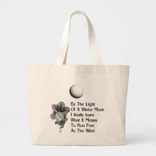 Wolf Dreams Jumbo Tote Bag