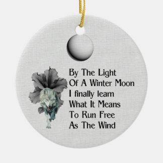 Wolf Dreams Ornaments