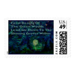 Wolf Dreams Postage Stamp
