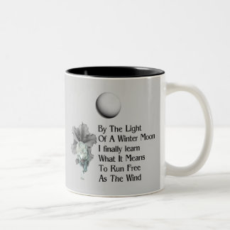 Wolf Dreams Two-Tone Coffee Mug