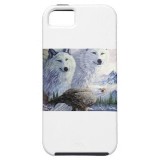 Wolf Eagle Animals Nature Park Office Business Art iPhone 5 Covers