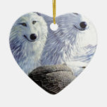 Wolf Eagle Animals Nature Park Office Business Art Ornament