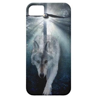 Wolf & Eagle Wildlife Art iPhone 5 Case